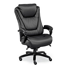 Big and Tall Executive Chair in Leather and Polyurethane, 8801385