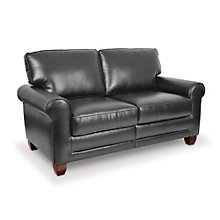 Reception Loveseat in Faux Leather or Fabric, TRU-10354