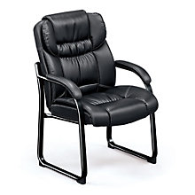 Guest Chair in Faux Leather, TRU-10602