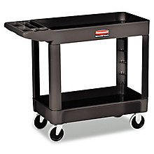 Rubbermaid Two Shelf Utility Cart - 500lb Capacity, UNE-RCP450088