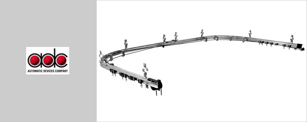 ADC Rig-I-Flex® 140 Series Track from Rose Brand