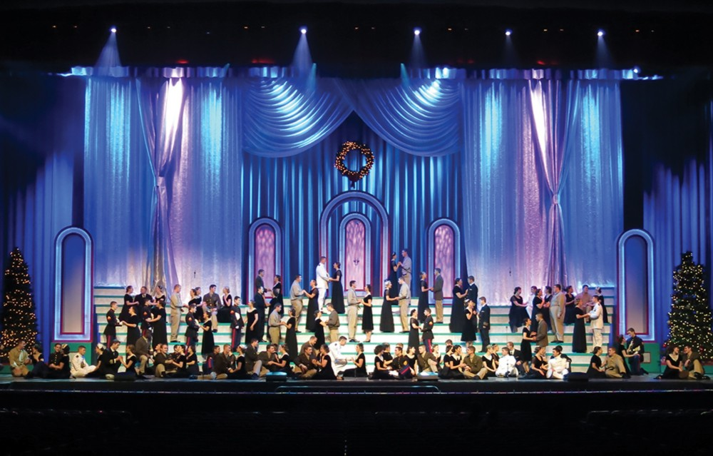 purdue university christmas show 2013