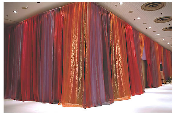 Shimmer Organza Fr Curtain Rental From Rose Brand