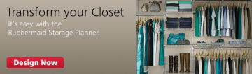 Transform Your Closet with the Rubbermaid Storage Planner