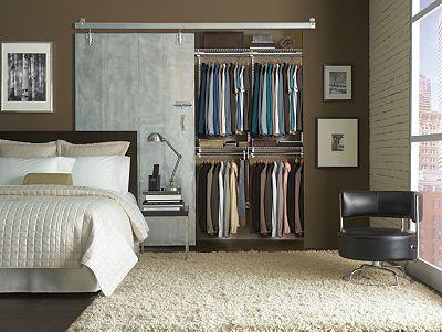 Loft Closet Inspiration