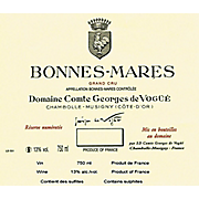 Comte Georges de Vogüé Bonnes-Marres Grand Cru 2014