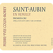 Pierre-Yves Colin-Morey Saint-Aubin 1er Cru Remilly 2014