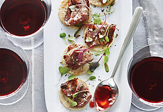 Duck-Breast Canapés