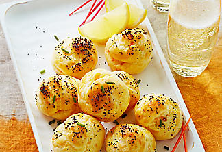 Choux-Pastry Cheese Puffs