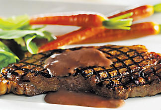 Bordeaux-style boneless club steak