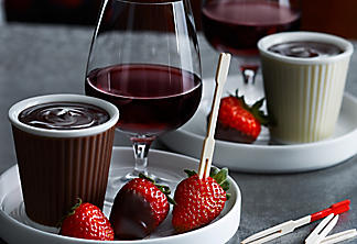 Flavoured Chocolate Fondue