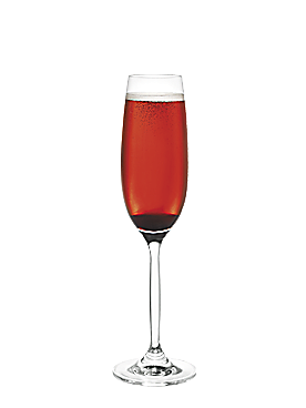 Fiche cocktail italian kir for Cocktail mousseux