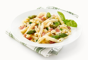 Penne With Asparagus And Prosciutto Recipes — Dishmaps