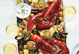 All-in-one seafood platter