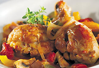 Basque-style chicken