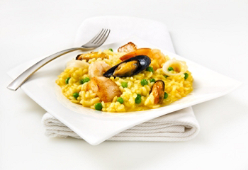 fiche recette risotto aux fruits de mer. Black Bedroom Furniture Sets. Home Design Ideas