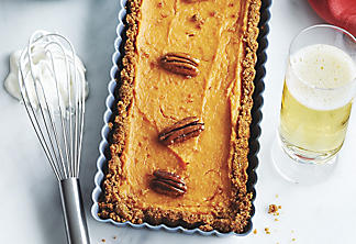 Brandied Sweet-Potato Tart