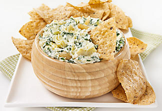 Artichoke and Gruyère dip