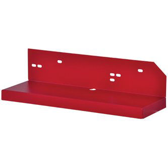 Red battery shelf for BC400R encl.