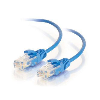 8ft Cat6 UTP 28awg Blue