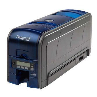 SD360 DUPLEX PRINTER, 100-CARDINPUT HOPP