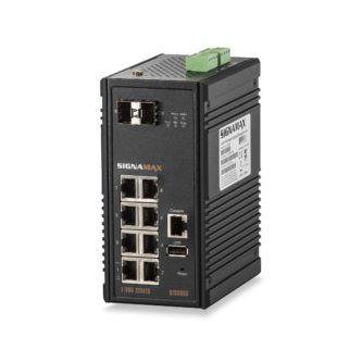 I-300 8 Port Industrial Gigabit Switch w