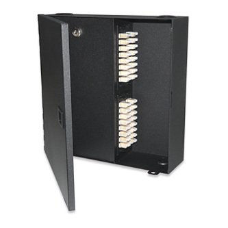 4-Module Wall Mount Enclosure,w/Security