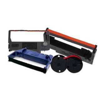 Epson 300 red/black ribbons, 6/ctn