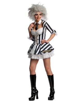 Beetlejuice Adult Womens Costume