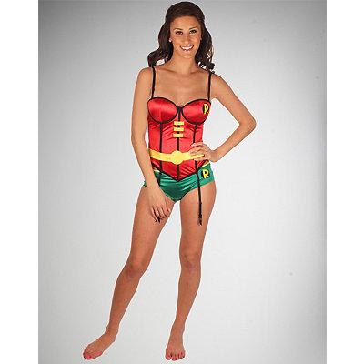 batman-robin-corset-with-boy-shorts-set
