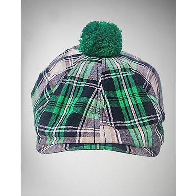 green-plaid-pom-ivy-hat