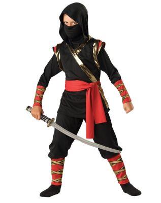 Ninja Warrior Child Costume