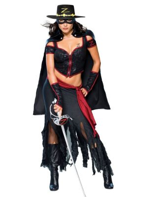 Lady Zorro Womens Costume