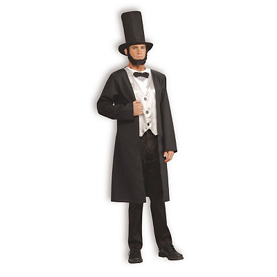 Abe Lincoln Mens Costume $39.99 AT vintagedancer.com