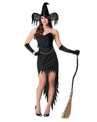 Witch Rhinestone Womens Costume