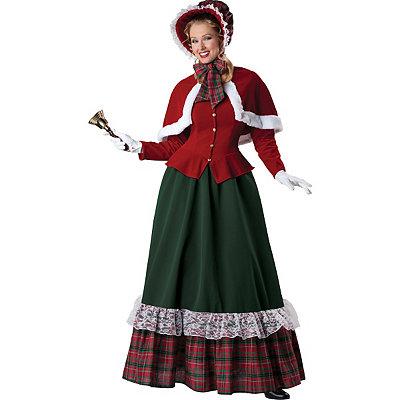 Yuletide Lady Adult Costume $139.99 AT vintagedancer.com