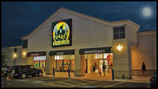 spirit will operate 1150 stores in the us and canada making us the largest specialty halloween retail chain in north america - Spirit Halloween Store 2016