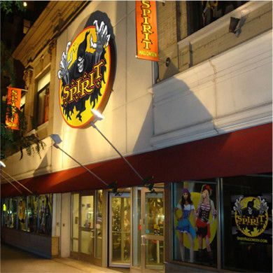 founded in 1983 spirit was already a halloween force in malls when spencers acquired the then 63 store chain in 1999 through spirit the company - Spirit Halloween Store 2016