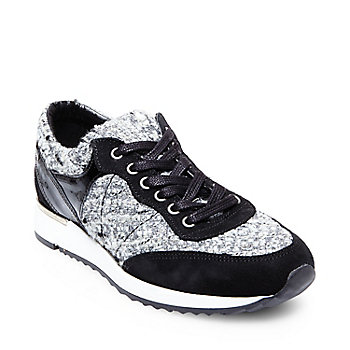 tweed sneakers