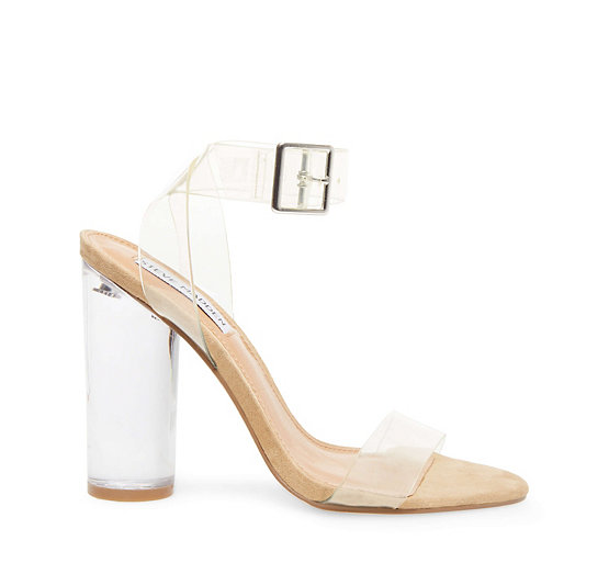 Lucite Wedge Heel Shoes