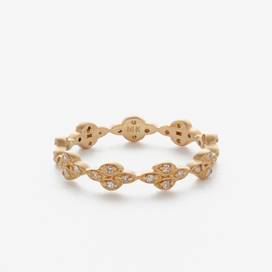 OVAL DIA CLUSTER RING