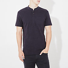 CROPPED COLLAR POLO