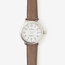 RUNWELL COIN EDGE 38MM WATCH