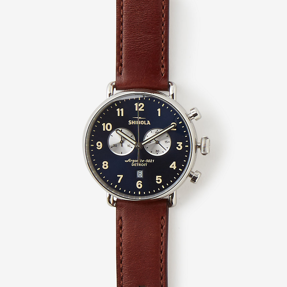 CANFIELD 43MM CHRONO WATCH