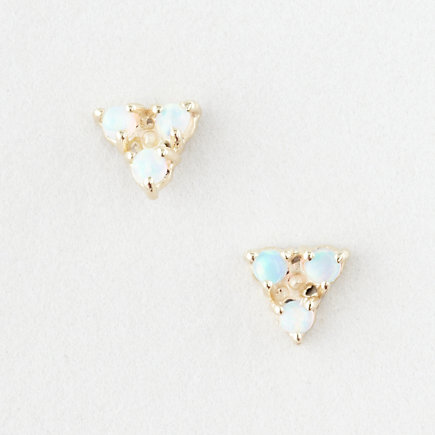 TRI OPAL EARRINGS