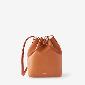 BUCKET BAG COATED