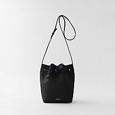 MINI BUCKET BAG COATED