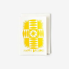 BIRTHDAY SUNRISE CARD