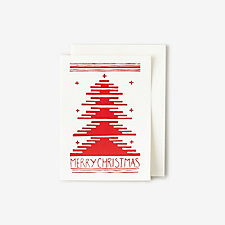 FIR TREE CARD