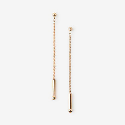 SMALL STRAW EARRINGS